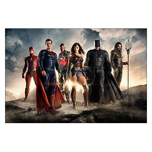 Justice League. Размер: 45 х 30 см